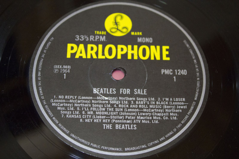 The Beatles Beatles For Sale MONO Rare 80s UK Pressing