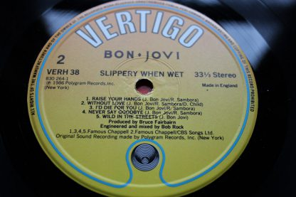 Bon Jovi Slippery When Wet3