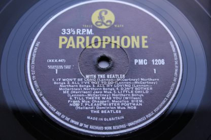 With The Beatles 1st UK Press3