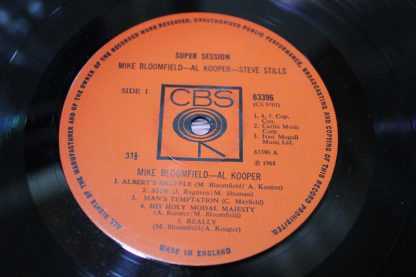 Mike Bloomfield Super Sessions