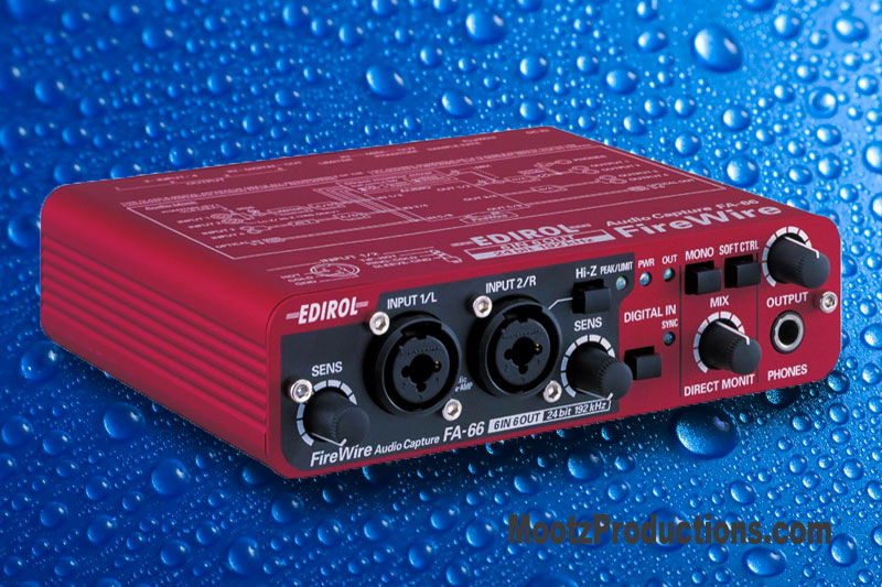 FA-66:  Audio: FireWire With Mac OSX