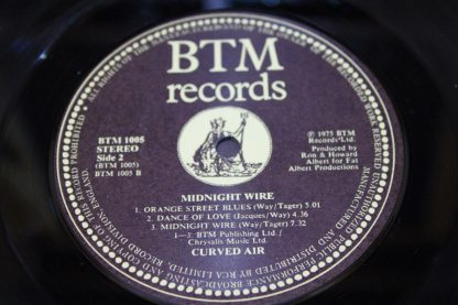 Curved Air Daryl Way 'Midnight Wire'7