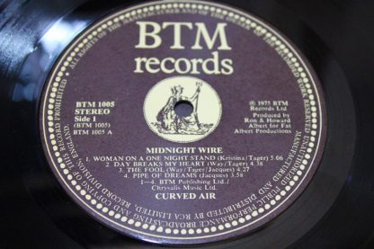 Curved Air Daryl Way 'Midnight Wire'9
