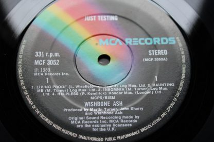 Wishbone Ash Just Testing