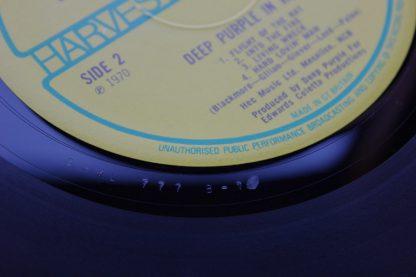 Deep Purple Deep Purple In Rock Cat No. SHVL 777 1970