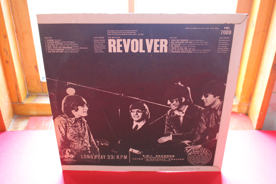 How to define The Beatles Revolver MONO 1st UK Vinyl Pressing