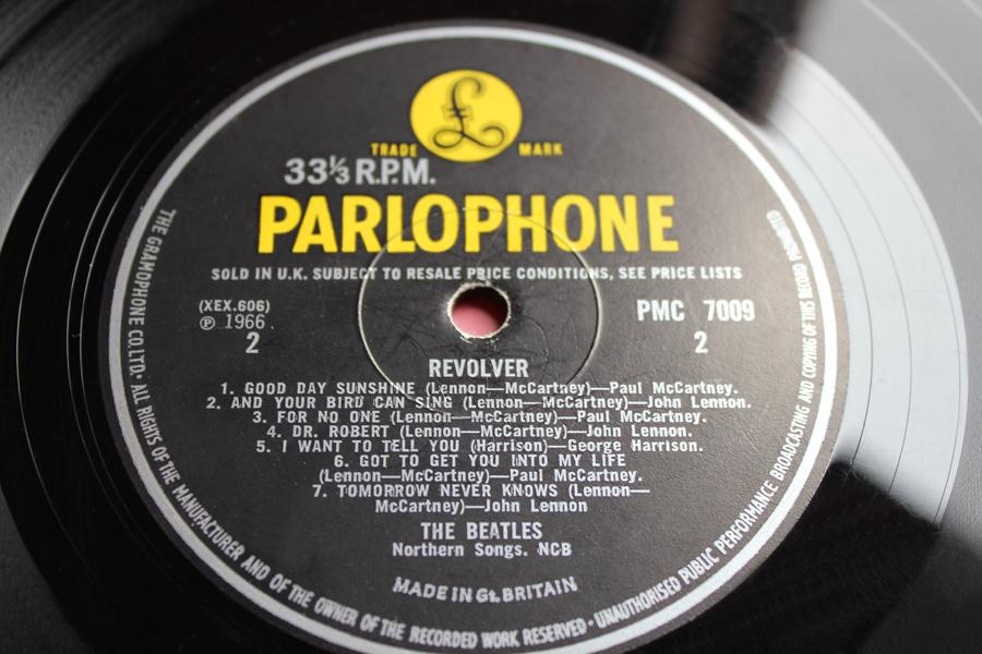 define The Beatles Revolver MONO 1st UK Vinyl Pressin