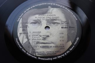 John Lennon Imagine Apple UK PAS 10004 COMPLETE Mint Vinyl