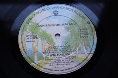 Annie Haslam Annie In Wonderland 1st Uk Pressing