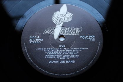 Alvin Lee RX5 1st Uk Pressing Mint