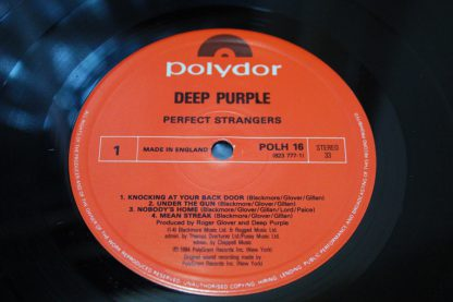 Deep Purple Perfect Strangers