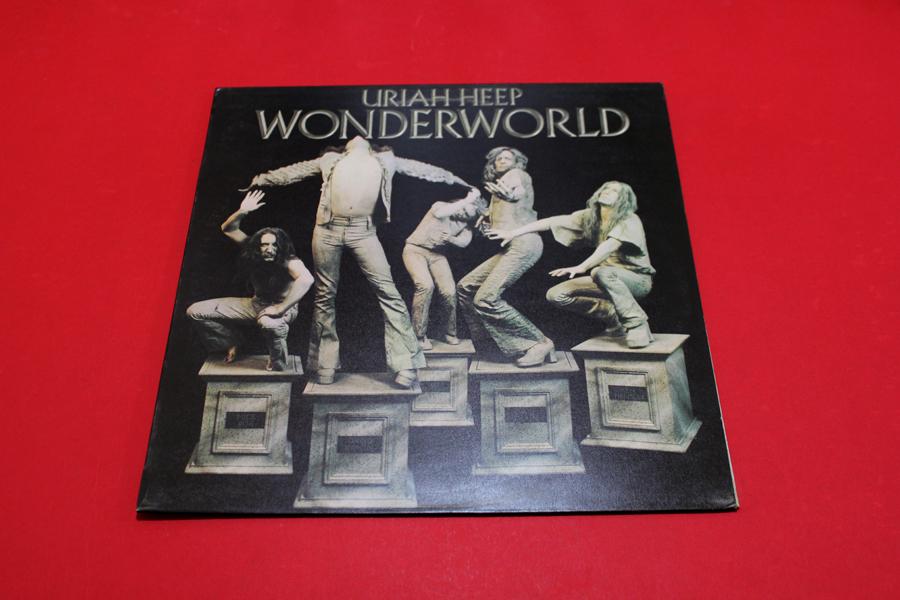 Uriah Heep Wonderworld 1st Uk Press Near Mint Audio Archive Mootzproductions