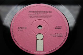 Traffic John Barleycorn Must Die 1st UK Pressing