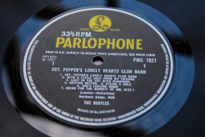 Beatles SGT Pepper 1st UK Mono13