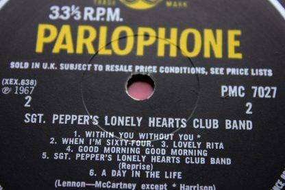Beatles SGT Pepper 1st UK Mono11