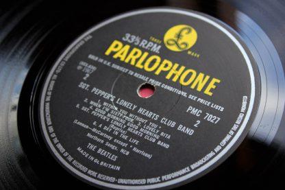 Beatles SGT Pepper 1st UK Mono10