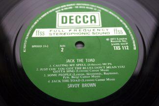 Savoy Brown Jack The Toad 1st UK