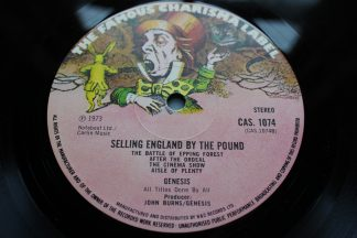 GENESIS SELLING ENGLAND BY THE POUND 1st UK