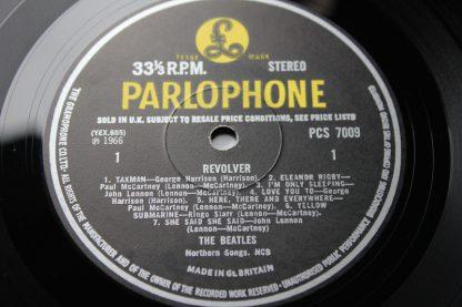 Beatles Revolver Stereo 1st 3