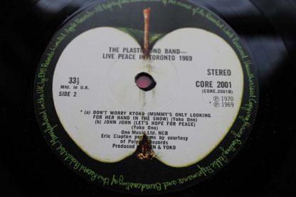 The Plastic Ono Band John Lennon Live Peace In Toronto 1969
