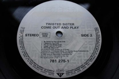Twisted Sister Come Out To Play