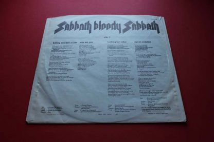 Black Sabbath Bloody Sabbath 1st6