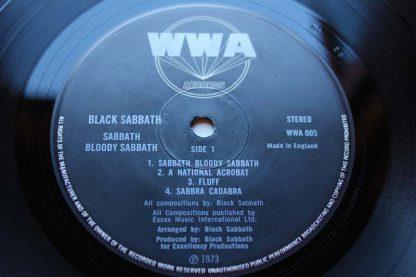 Black Sabbath Bloody Sabbath 1st7
