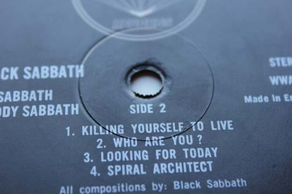 Black Sabbath Bloody Sabbath 1st9