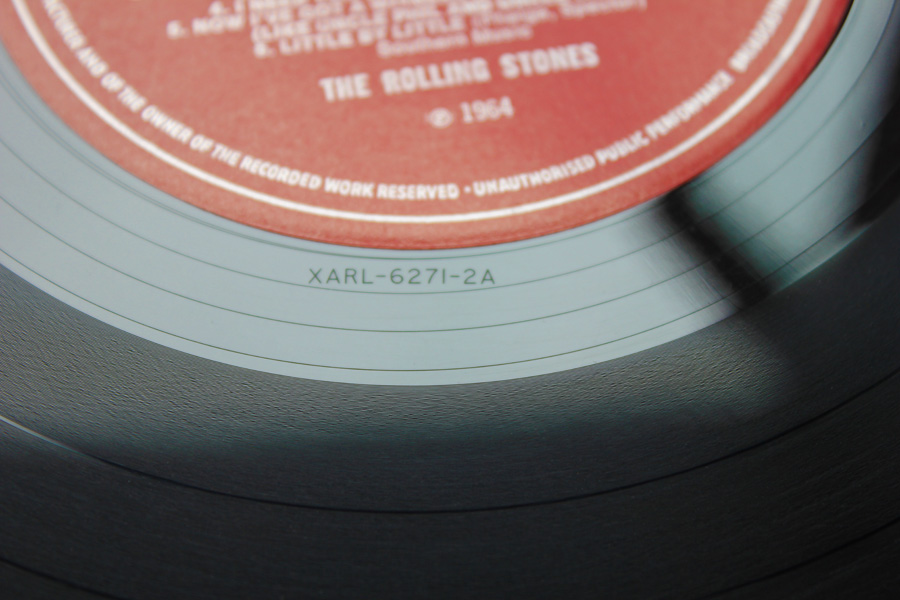 How a vinyl Record is made and stampers identification