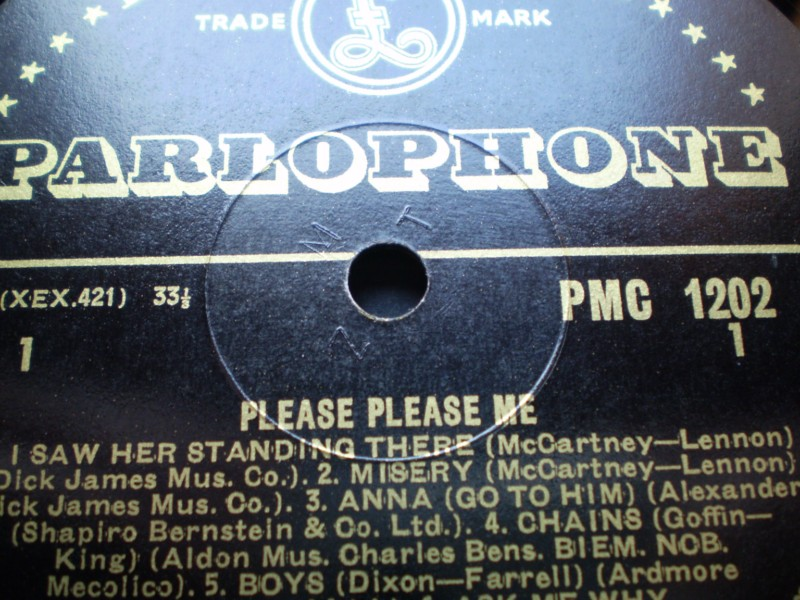 The Beatles Please Please Me 1st UK Press