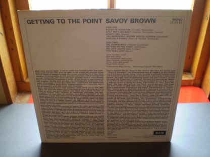 Savoy Brown Getting To The Point