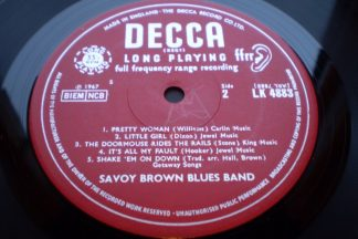 SAVOY BROWN BLUES BAND SHAKEDOWN