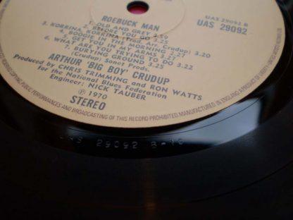 Arthur Crudup Roebuck Man