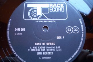Jimi Hendrix Band Of Gypsies