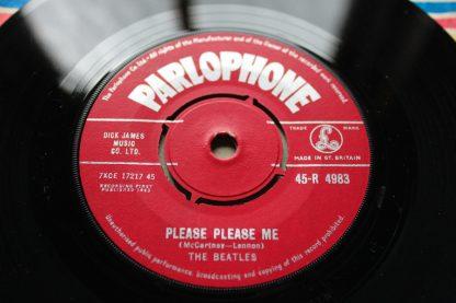 "The Beatles Please Please Me 7"""