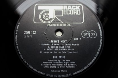 The Who Who's Next 1st