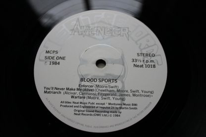 Avenger Blood Sports Original 1st UK