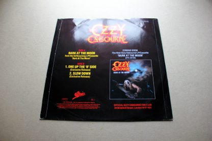 "Ozzy Osbourne Bark At The Moon 12"" Single"