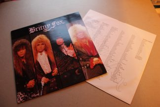 Britny Fox Glam Heavy Metal Dutch Press