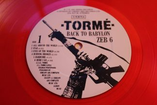 Torme Back To Babylon Red Vinyl