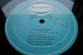 Lightnin Hopkins Dirty House Blues