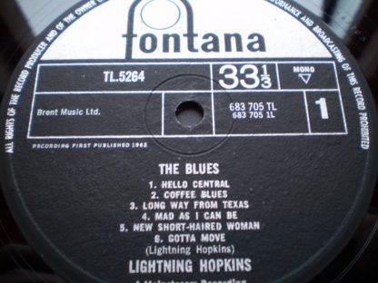 Lightnin Hopkins The Blues