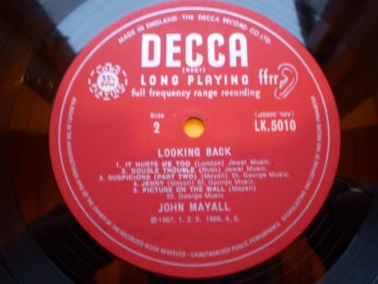 John Mayall Looking Back Unboxed Decca 1st UK