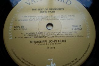 John Hurt ''Mississippi John Hurt The Best of