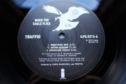 Traffic When The Eagle Flies 1st UK