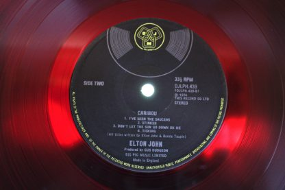 Elton John Caribou 1st UK Pressing Mint