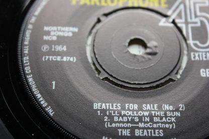 Beatles For Sale No2 EP Gramophone Co Rim Mint