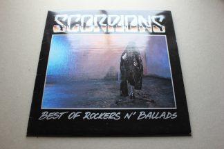 Scorpions Best Of Rockers N' Ballards 1st UK