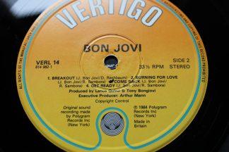 Bon Jovi Debut 1st UK Press