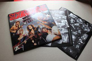 Scorpions World Wide Live 2x Lp 1st UK Press Mint